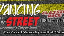 Dancing in the Street - Wed. June 19 @ 7pm