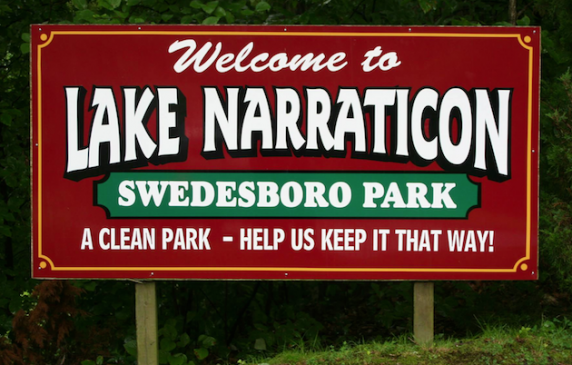 LakeParkSign