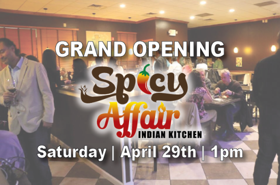 Grand Opening Spicy Affair Indian Kitchen Swedesboro
